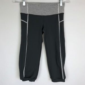 LULULEMON Crop Coal Wee Stripe